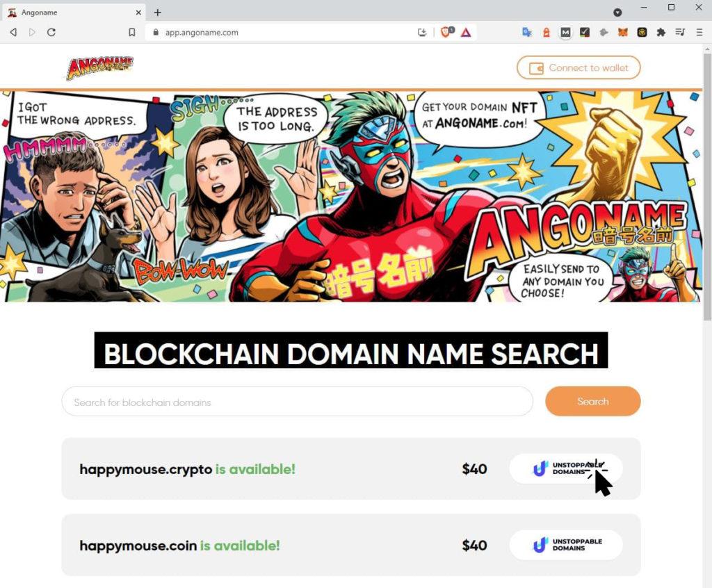 Animal Domain on Angoname
