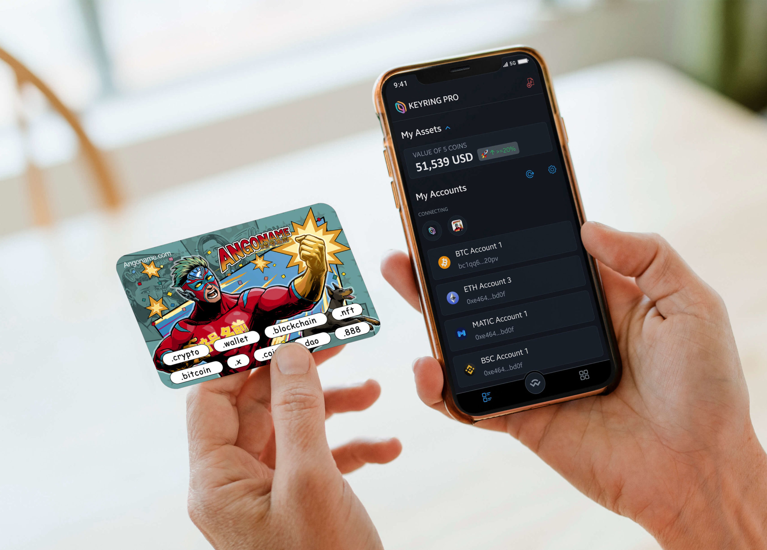 NFC Keycard Angoname Giveaway